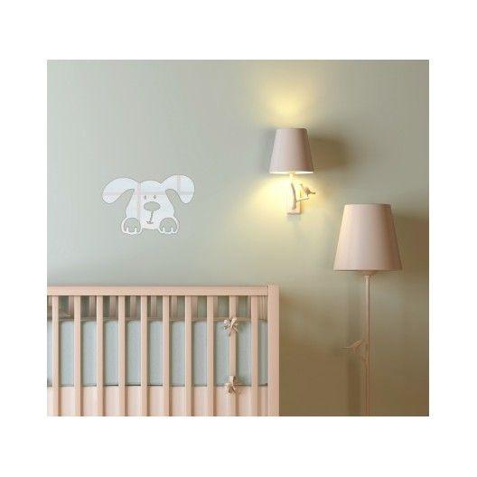Nalepovacie dekoračné zrkadlo s detským motívom