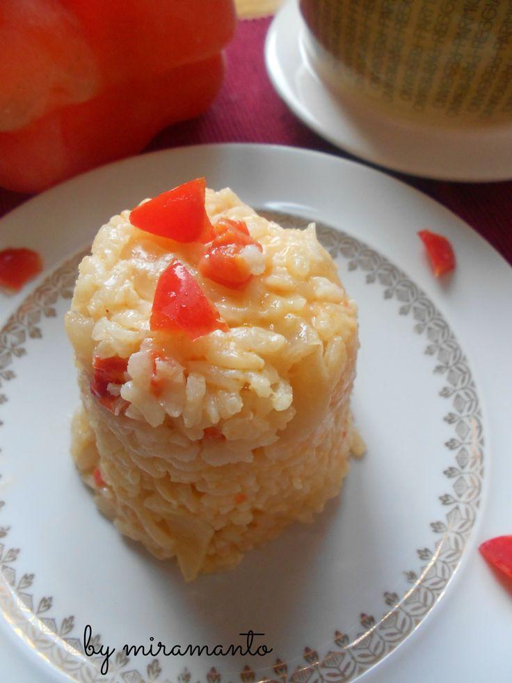 Risotto+ai+peperoni+rossi/Pasticci+in+Cucina