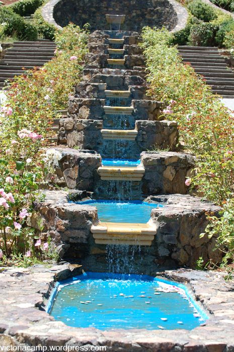 Tiered Backyard Pictures : tier gardening design tiered garden ideas oakland rose garden and a