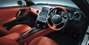 2015 Nissan GTR interior