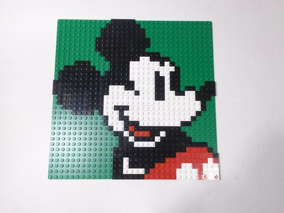 Hey, I found this really awesome Etsy listing at https://www.etsy.com/listing/241190095/lego-disney-classic-mickey-mouse-mosaic