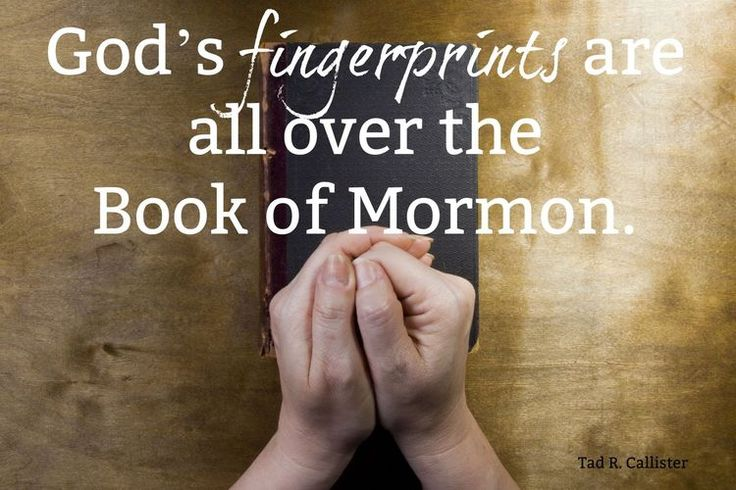 """God's fingerprints are all over the Book of Mormon, as evidenced by its majestic doctrinal truths. [It] is one of [His] most priceless gifts to us."" From #ElderCallister's inspiring Oct. 2017 facebook.com/223271487682878 message Learn more http://lds.org/topics/book-of-mormon and #passiton. #ShareGoodness"