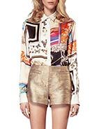 Cameo Scarf Top #cameo #davidjones #djs #fashion #style #printastic #tops