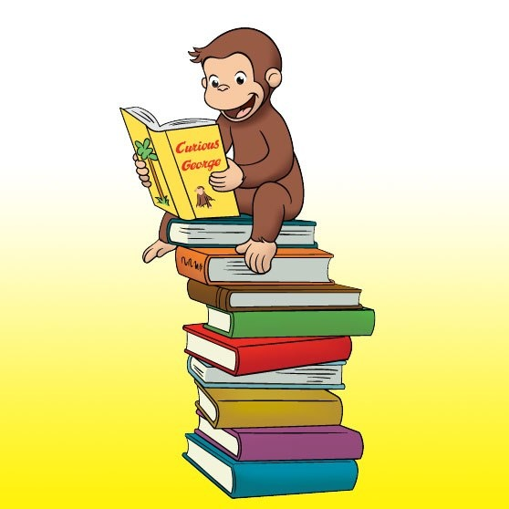 Image result for curious george reading quotes