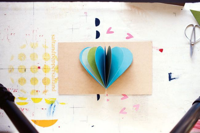 How to make a paper heart  image 5