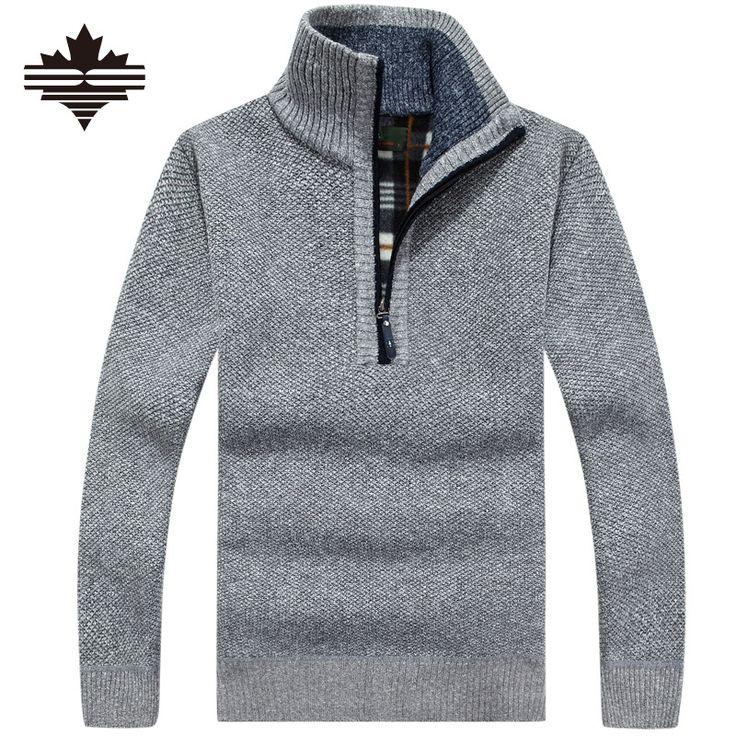 Ucuz Sıcak Kalın Kadife Kaşmir Kazak Erkek Kış Kazaklar Fermuar Mandalina Yaka Adam Rahat Giysiler Desen Triko Büyük Boy 3xl, Satın Kalite kazak doğrudan Çin Tedarikçilerden: Men's Sweaters Winter Warm Thick Velvet Sweatercoat Zipper Collar Casual Cardigan Men Sweaters Pattern Knitwear Big Size