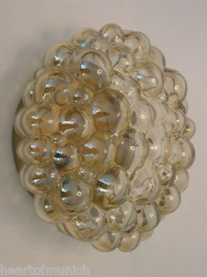 1960s Helena Tynell LIMBURG flush mount SCONCE space age MID CENTURY 70s lamp