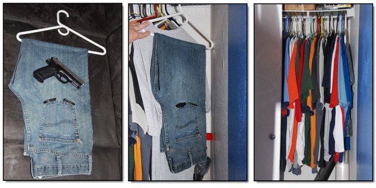 How To Turn A Pair Of Jeans Into The Perfect Home Concealed Handgun Location