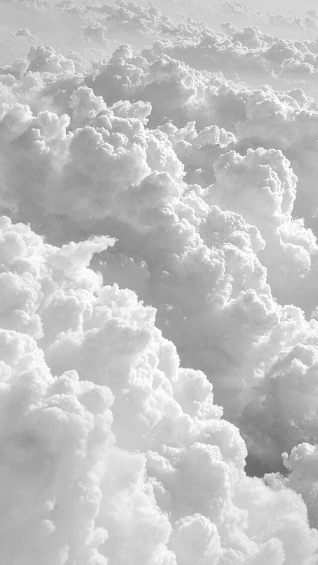 Iphone Clouds White Wallpaper 4k Wallpaper Para Iphone 6 Papeis De Parede Planos De Fundo