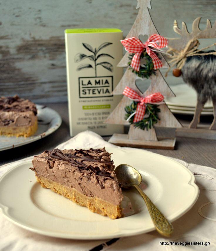 Vegan chocolate coconut cheesecake: a mouthwatering festive dessert!