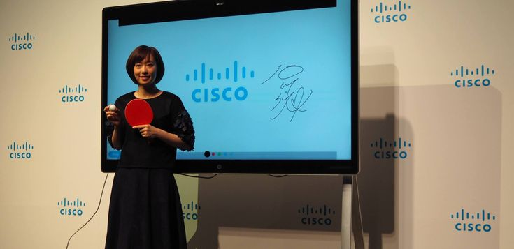 A couple of Olympic hopeful table tennis players in Japan are teaming up with Cisco's Japanese business. Kasumi Ishikawa andTomokazu Harimoto will benefit from Cisco's latest technology in the com…