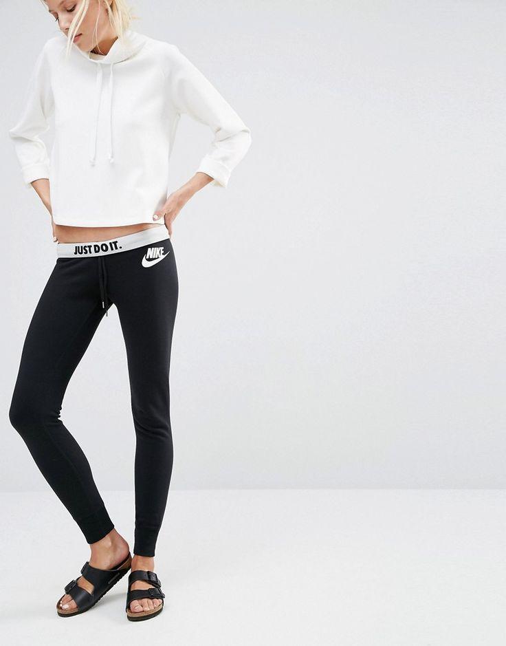 Pantalones de chándal pitillo con logo en la cintura de Nike
