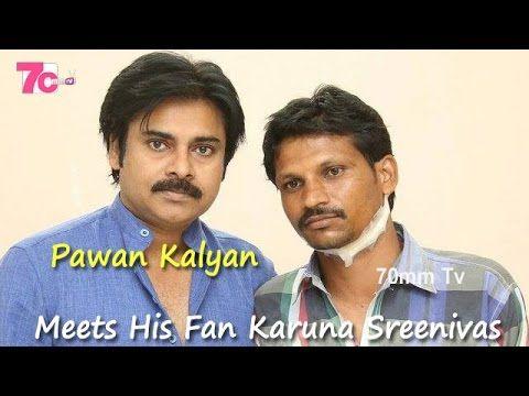 Pawan Kalyan Meets His Injured fan