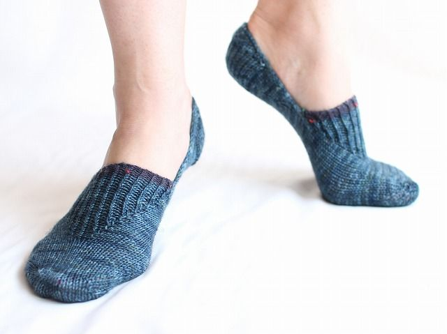 Penne Minimum - free pattern 靴下の毛糸やさん atti's Socks Shop