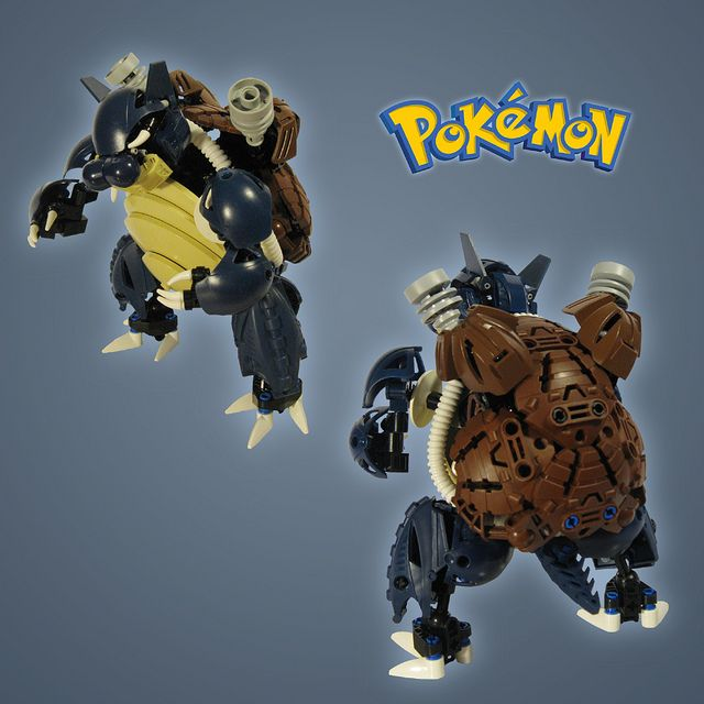 Pokemon: Blastoise, via Flickr.