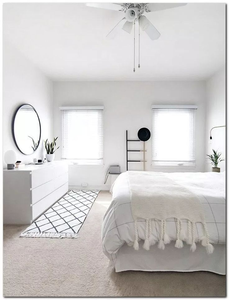 24 Best Minimalist Bedroom Ideas Decoration #bedroomideas #bedroomdecor #bedroom…