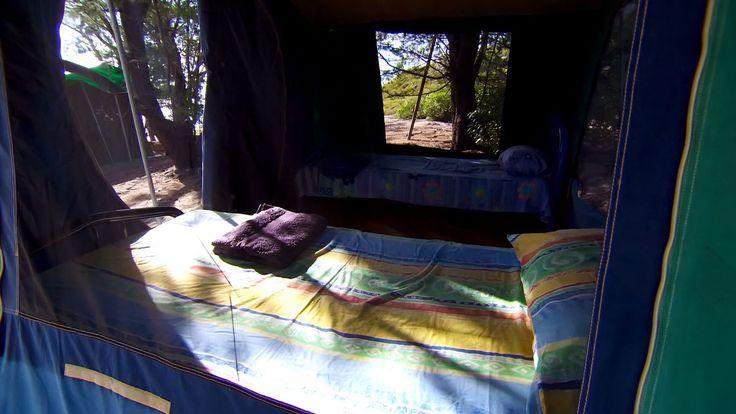 Gove Sports Fishing, Wigram Island Retreat. Tented accommodation. www.govefish.com.au