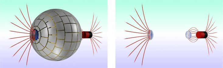 Magnetic wormhole connecting 2 regions of space created for the first time - http://scienceblog.com/80030/magnetic-wormhole-connecting-2-regions-space-created-time/