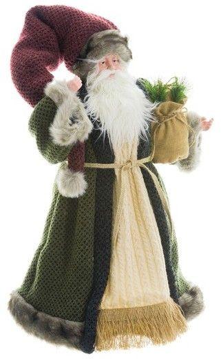 Allstate Santa Figurine #commissionlink #christmas #christmasdecor #santa