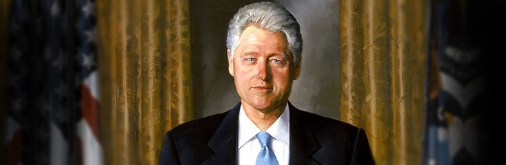 Bill Clinton (1946-), the 42nd U.S. president, served in office from 1993 to 2001. Prior to that, the Arkansas native and Democrat was gover...