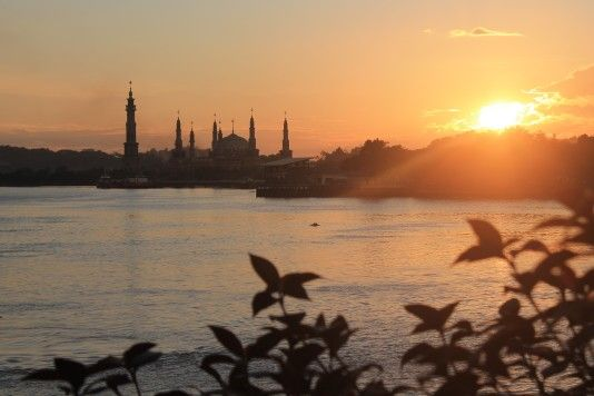 Sungai mahakam - Islamic centre, Samarinda