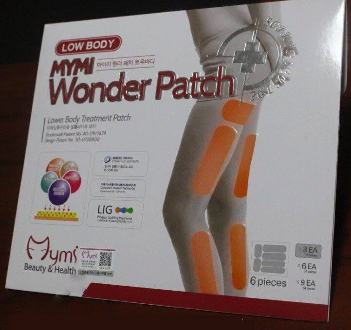 18 pcs  MYMI wonder slim patch for leg body slimming patch