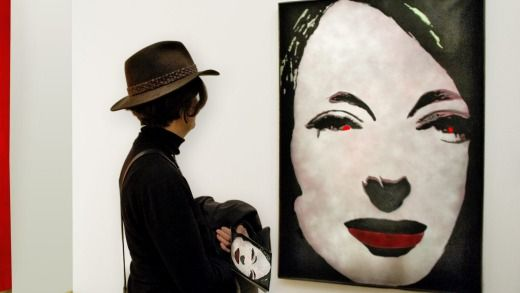 Artwork in The Centre Pompidou Metz.  Photo: Getty Images