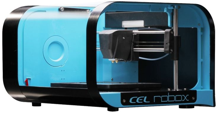 CEL RBX01 Robox 3D Printer, Dual Extruder, High Definition