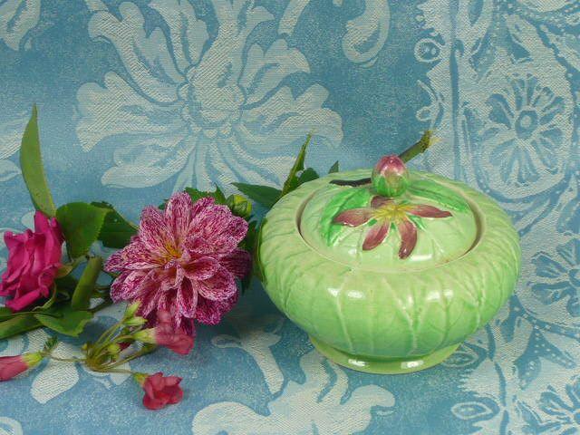 Apple Blossom Preserve Pot