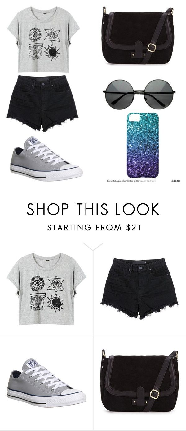 """""""Sin título #106"""" by karenrodriguez-iv on Polyvore featuring moda, T By Alexander Wang, Converse, women's clothing, women, female, woman, misses y juniors"""