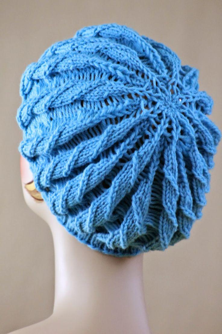 Twilled Stripe Hat-free knitting pattern @ Balls to the Walls Knits