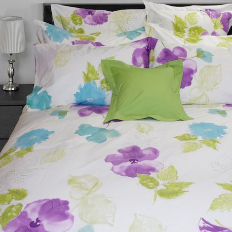 Clematis 220 TC Percale by Cuddle Down Canada