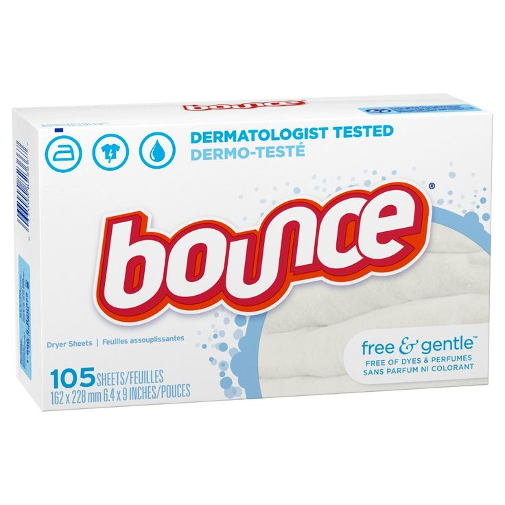 Bounce Free & Sensitive Fabric Softener Sheets 105 ct
