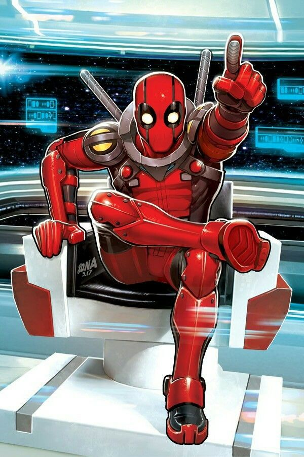 Deadpool in Space