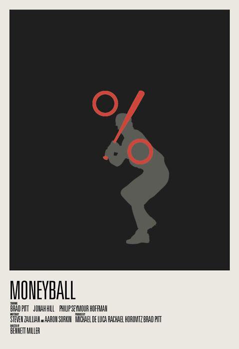 Minimal movie poster for best pictures nominees- posters minimalistas de las películas nominadas como mejor película