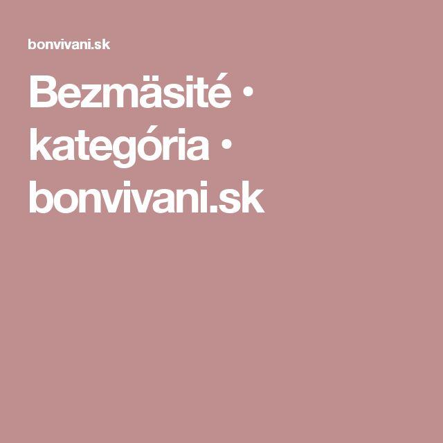Bezmäsité • kategória • bonvivani.sk