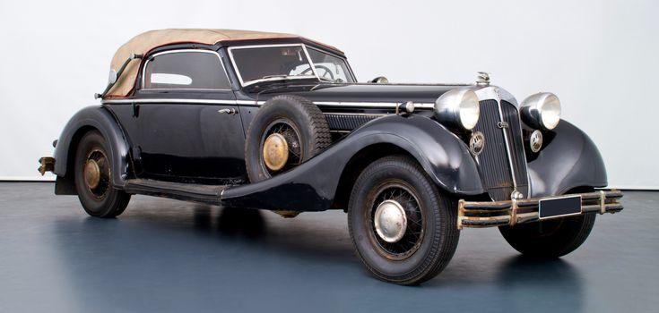 1937 Horch 5-liter 853 cabriolet