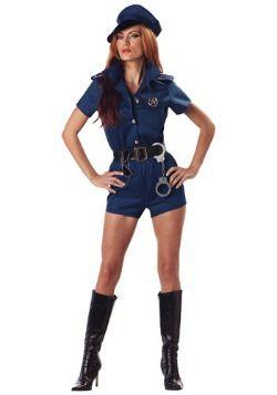 Oficial de policía del traje de la Mujer