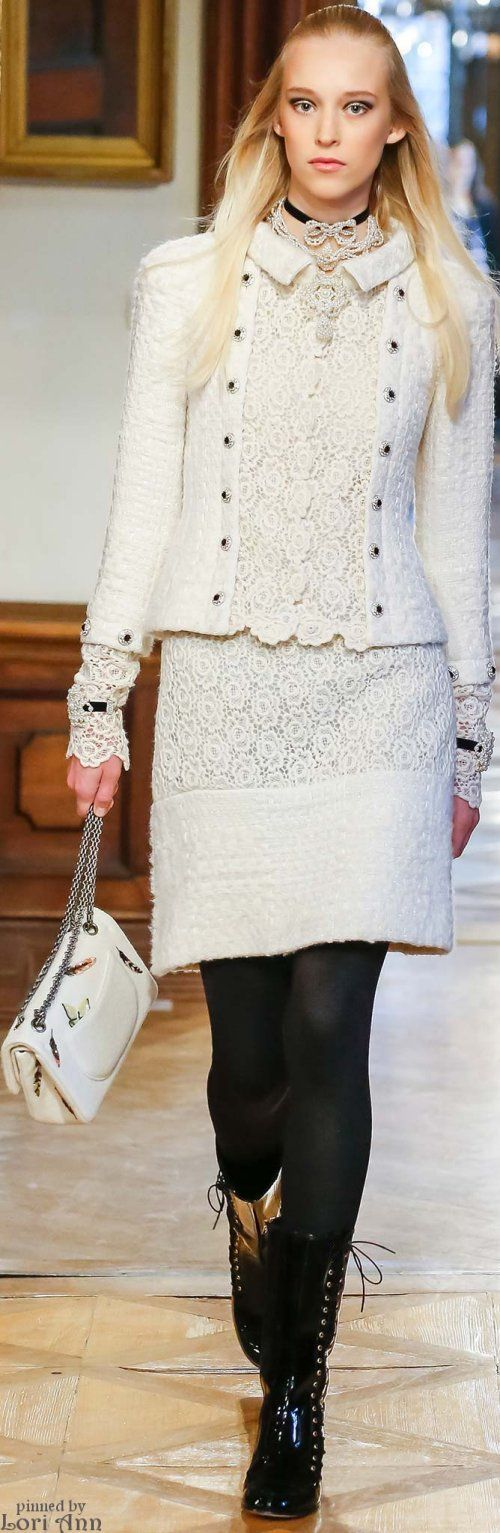 Chanel Pre-Fall 2015 I am usually not a huge fan of the Chanel label, but they seem to have some interesting things out this year.