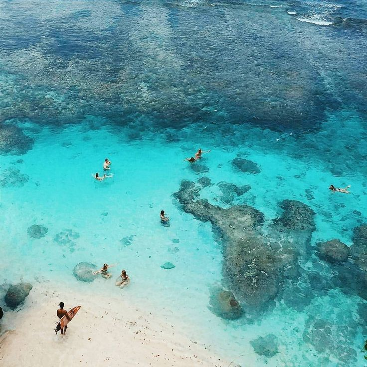 Blue Point Beach, Bali, Indonesia
