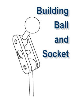 DIY build your own ball and socket