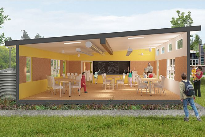 Modular Classroom Portland Oregon ~ Best smart academic green environments sage images on