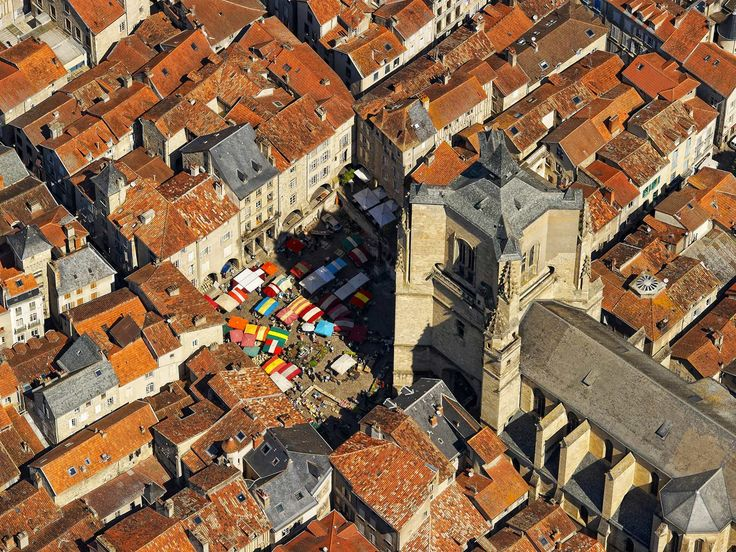 Villefranche de Rouergue, Aveyron, Midi-Pyrenees, France