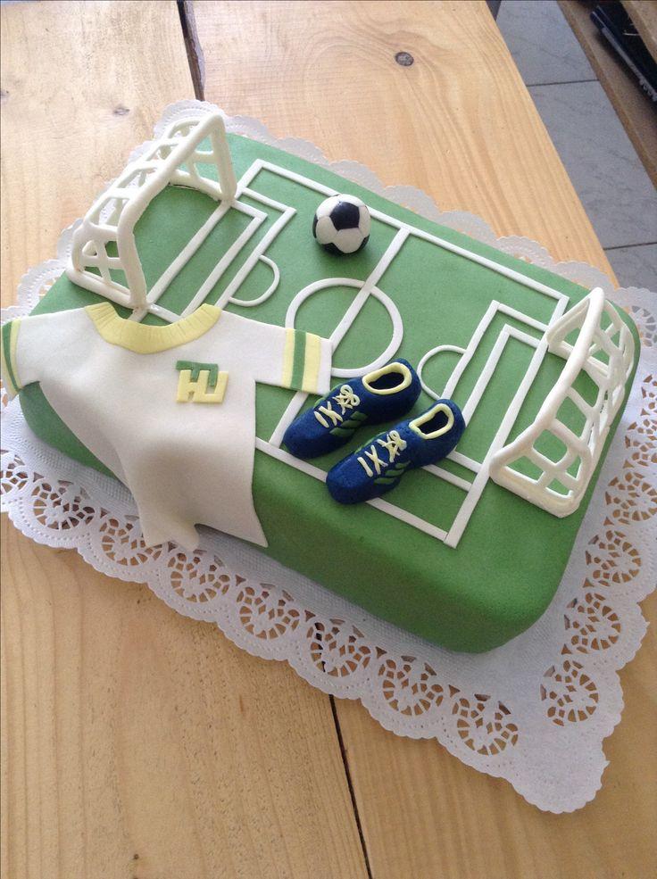 Cake football Dort fotbalové hřiště