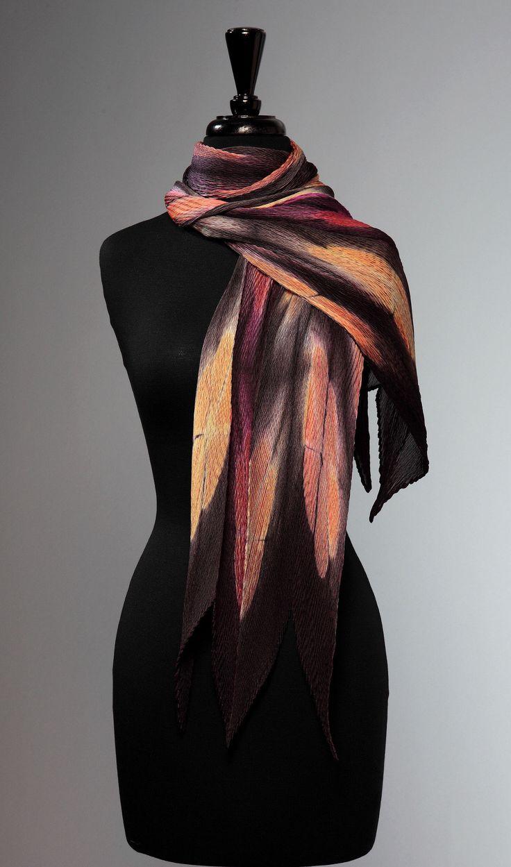Oversized Merino Wool Scarf - Abstract Babe by VIDA VIDA ovyWj5D