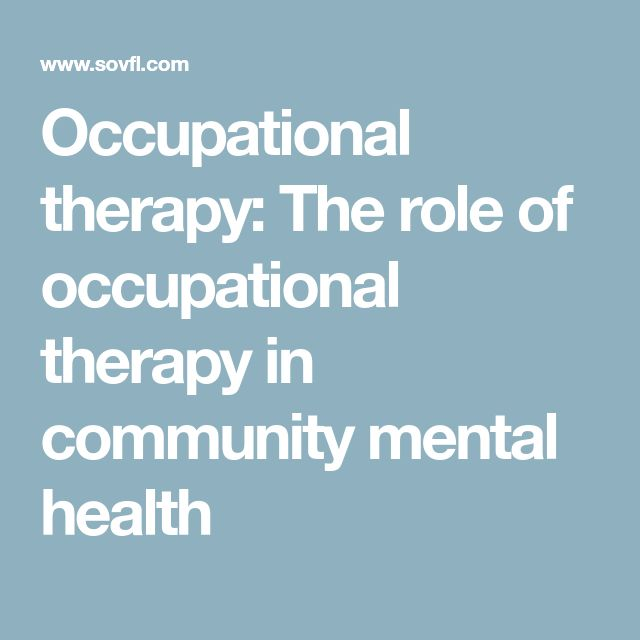 role of occupational therapist pdf