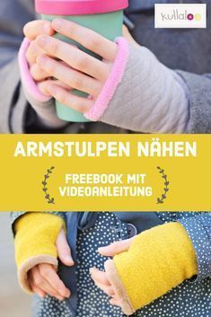 Sew on cuffs with thumb holes (incl