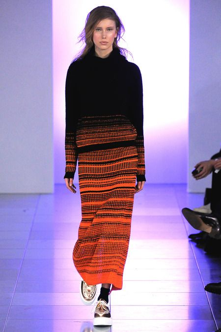 Gorgeous knit by Mark Fast   Fall 2014 Ready-to-Wear Collection   Style.com