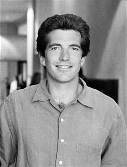 George Magazine Editor-in-Chief John F. Kennedy Jr attends the Republican National Convention September 1996 in San Diego, CA.