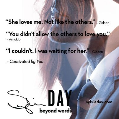 Gideon was waiting for Eva. - CAPTIVATED BY YOU by Sylvia Day